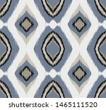 ikat geometric folklore...   Shutterstock .eps vector #1465111520