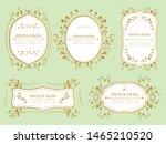 gorgeous european decoration... | Shutterstock .eps vector #1465210520