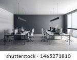 bright coworking office... | Shutterstock . vector #1465271810