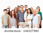 a large group of different... | Shutterstock . vector #146527583