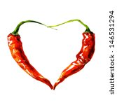 Heart From Chili Pepper....