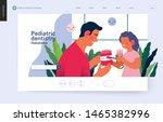 pediatric dentistry  medical...   Shutterstock .eps vector #1465382996