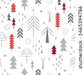 seamless christmas pattern ... | Shutterstock .eps vector #1465394786