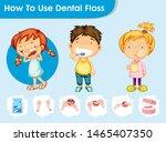 scientific medical illustration ...   Shutterstock .eps vector #1465407350