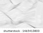 wave lines pattern abstract... | Shutterstock .eps vector #1465413803