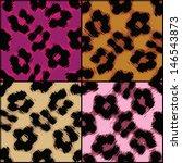 seamlessly tileable leopard... | Shutterstock .eps vector #146543873