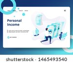 landing page personal income ...