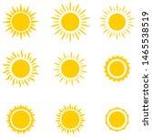 set of the suns. cute suns....