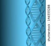 dna molecule structure... | Shutterstock . vector #146555288
