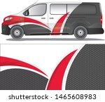 van car decal vector designs. ...   Shutterstock .eps vector #1465608983