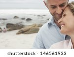 closeup of happy loving couple... | Shutterstock . vector #146561933