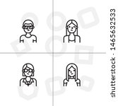 avatar  human  people lineal... | Shutterstock .eps vector #1465632533