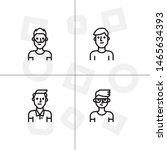 avatar  human  people lineal... | Shutterstock .eps vector #1465634393
