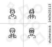 avatar  human  people lineal... | Shutterstock .eps vector #1465635113