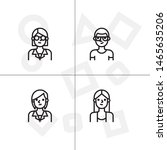 avatar  human  people lineal... | Shutterstock .eps vector #1465635206