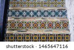 Antique pattern tiles This name is called Seagate or cement tiles, printed pattern Seagate tiles are very unique for decorating Sino-Portuguese. Which is a blend of Western and Eastern decoration