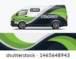 company car wrap. wrap design...   Shutterstock .eps vector #1465648943