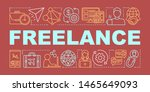freelance word concepts banner. ...
