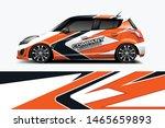 car wrap graphic racing... | Shutterstock .eps vector #1465659893