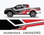 truck decal wrap design vector. ... | Shutterstock .eps vector #1465662983