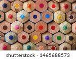 Colorful Pencils End Macro...