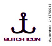 anchor icon flat. simple...