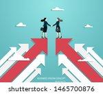 business vision  business women ... | Shutterstock .eps vector #1465700876