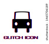 car icon flat. simple pictogram ... | Shutterstock .eps vector #1465706189