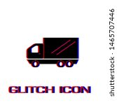 truck icon flat. simple... | Shutterstock .eps vector #1465707446