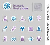 science   physics related icons | Shutterstock .eps vector #146570768