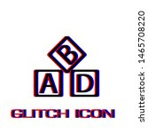 abd cubes blocks child... | Shutterstock .eps vector #1465708220