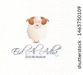 vector illustration. muslim...   Shutterstock .eps vector #1465750109