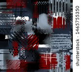 abstract dark seamless grunge... | Shutterstock .eps vector #1465755350