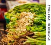 fresh vegetable for sale in... | Shutterstock . vector #146575619