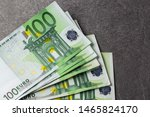 Euro Banknotes Close Up....