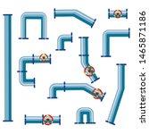 vector set of details ware... | Shutterstock .eps vector #1465871186