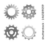 vector set of four various... | Shutterstock .eps vector #146589059