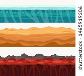 soil seamless layers... | Shutterstock .eps vector #1465919306