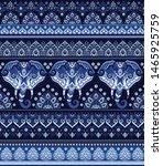 indian rug tribal ornament... | Shutterstock .eps vector #1465925759