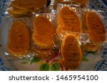 traditional thai dessert in... | Shutterstock . vector #1465954100
