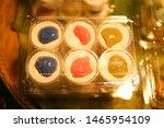 traditional thai dessert in... | Shutterstock . vector #1465954109
