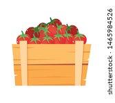 fresh vegetable tomatoes in... | Shutterstock .eps vector #1465984526