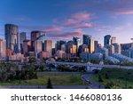 View Of Calgary's Skyline At...