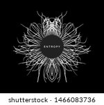 array with dynamic particles.... | Shutterstock .eps vector #1466083736