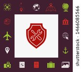 service icon   shield with... | Shutterstock .eps vector #1466085566