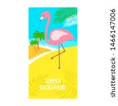 summer poster. templates for... | Shutterstock .eps vector #1466147006