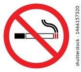 stop smoking logo no smoking... | Shutterstock .eps vector #1466157320