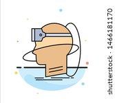 human  man  reality  user ... | Shutterstock .eps vector #1466181170