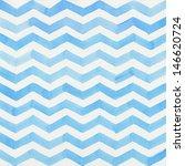 Watercolor Blue Striped...