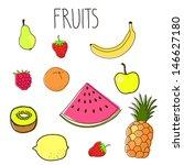 hand drawn vector illustration... | Shutterstock .eps vector #146627180